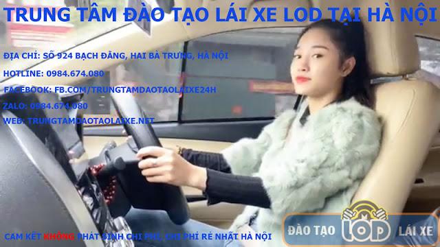 Học bằng lái xe ô tô B1, B2, C tại Thanh Trì