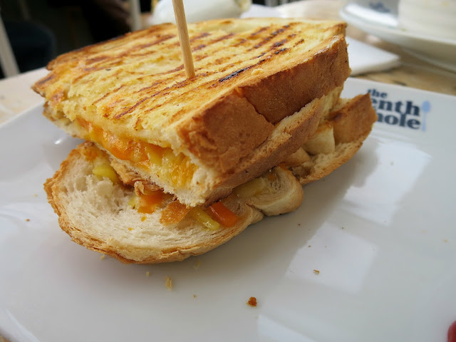 The Tenth Hole Tea Rooms Southsea Portsmouth Cheese Toastie Sandwich