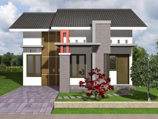 Contoh rumah minimalis sederhana type 45