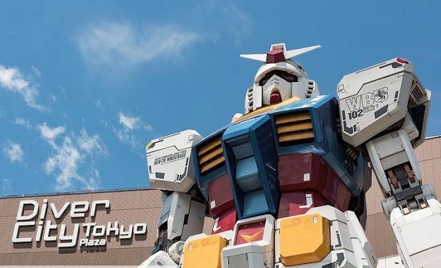 Jepang Mengirim Gundams ke Luar Angkasa untuk Olimpiade 2020