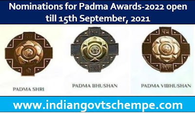 Nominations for Padma Awards