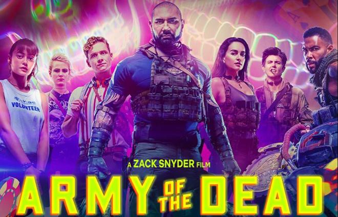 """Póster de """"Army of the Dead"""" de Netflix"""