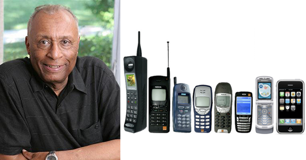 Henry T. Sampson, inventor of the cell phone
