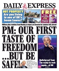 Daily Express Magazine 27 March 2021