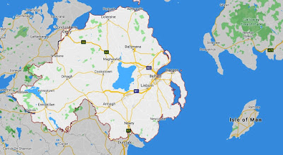 Map of Northern Ireland