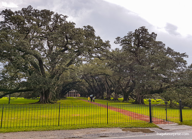 Oak Alley Plantation, Luisiana
