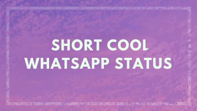 Short Status in English