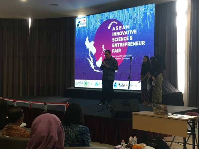 Asean Innovative Science &  Entrepreneur Fair ( AISEF ) Surabaya  2020
