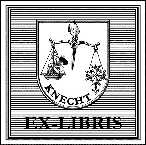 Ex-libris de la Famille Knecht.