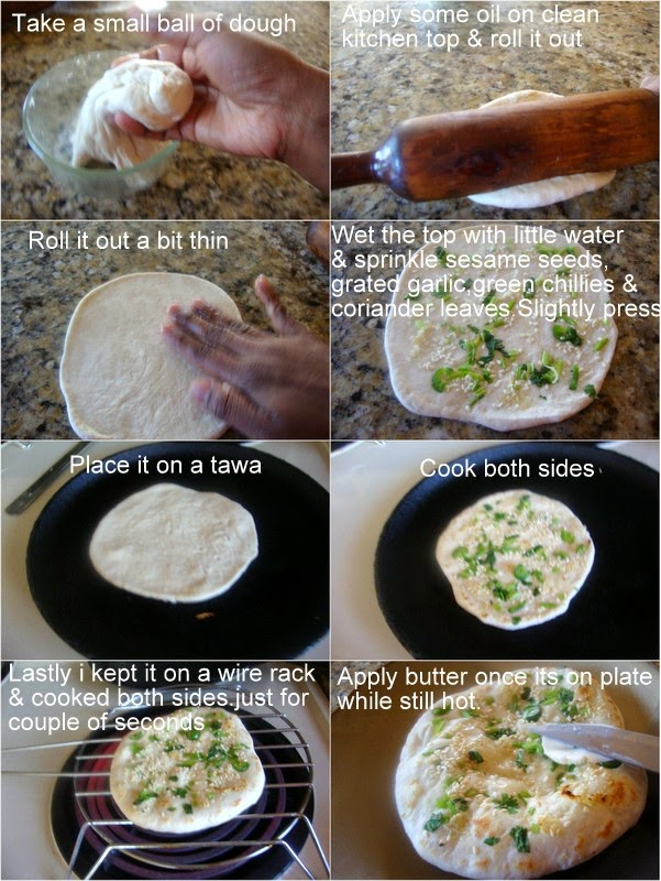 images for Kulcha Recipe / Plain Kulcha Recipe / Punjabi Flatbread