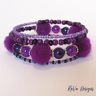 rava designs pom-pom beads fun handmade jewelry for her ideas