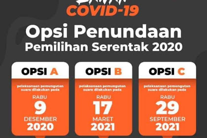 Perpu No 2 Tahun 2020: Pilkada Serentak Digelar 9 Desember 2020