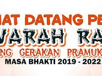 Desain Banner Musyawarah Ranting Gerakan Pramuka