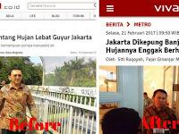 VIDEO: Ahok Tantang Turunin Hujan 3 Hari, Hasilnya Jakarta Jadi Kolam Renang