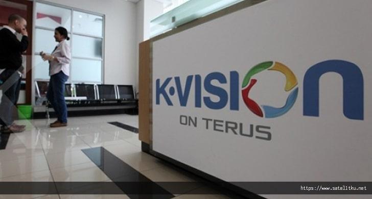 Daftar Channel Lengkap K Vision di Telkom 4 Terbaru