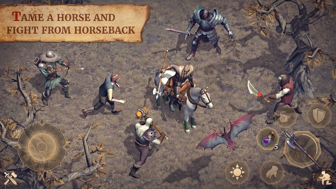 Grim Soul Dark Fantasy Survival MOD APK 2 1 0 - MorsArn