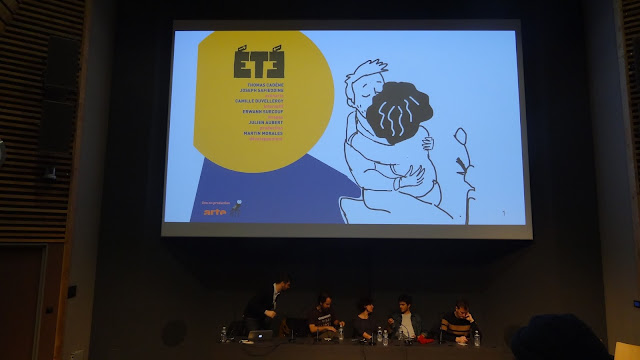 Photo conférence Eté Angoulême FIBD 2017