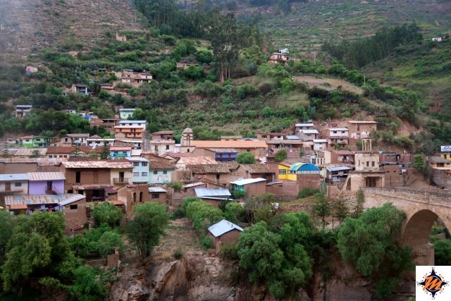 Da Ayacucho a Huancayo in autobus. Izcuchaca