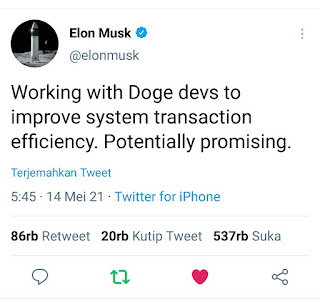 Pengembang Utama DOGE: Elon Musk Tidak Pernah Menghubungi Tim DOGE