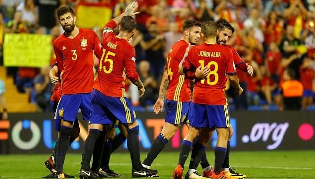 اسبانيا تكتسح السويد بثلاثية نظيفة ورباعية لبولندا وفوز صعب لأوكرانيا