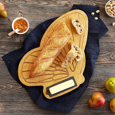 Bread & Butter(fly) Serving Board Uncommongoods, Bread Boards, Unique Wedding Gifts, Unique Kitchen Equipment, Uncommongoods, Foodie Gifts, Uncommon Collection