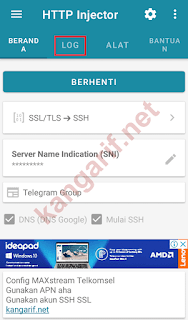ubah kuota maxstream http injector