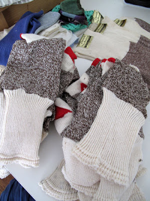 sock monkey sock stash
