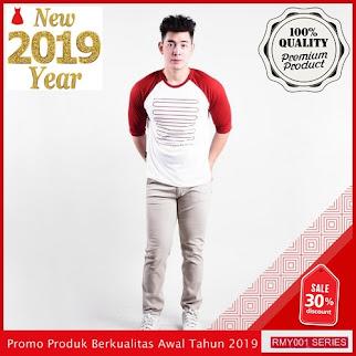 RMY128R34 Raf Kaos Raklan Line Keren Putih Per BMGShop