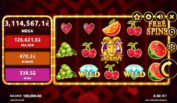 Main Gratis Slot Indonesia - Juicy Joker Mega Moolah Microgaming