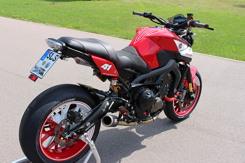 Racing Caf 232 Yamaha Mt 09 By Yamaha Klein