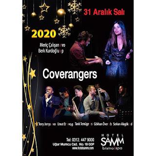 Hotel Samm Bistro Ankara Yılbaşı Programı 2020 Menüsü