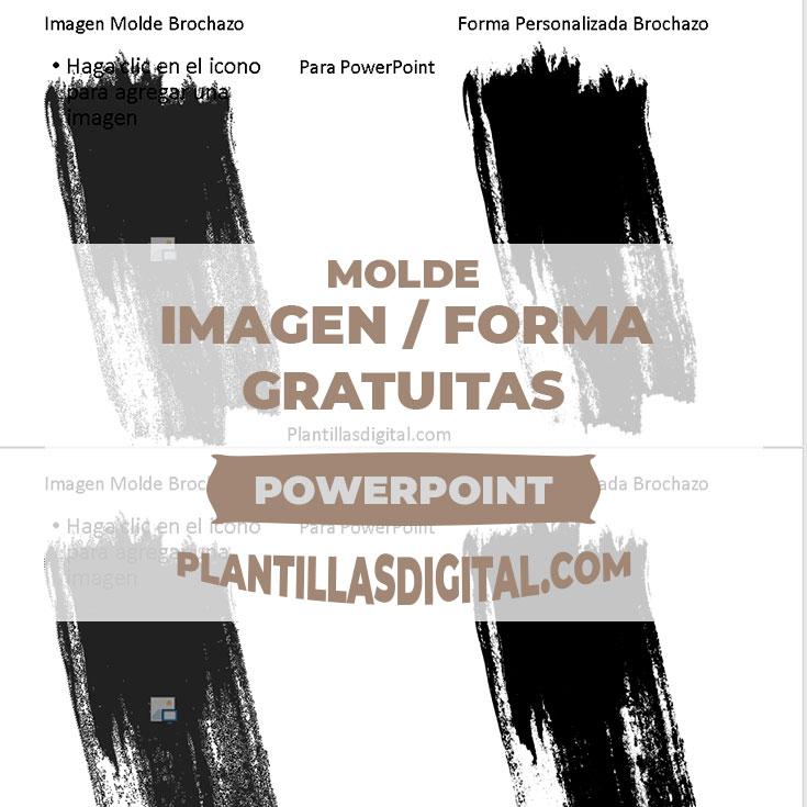 imagen molde forma personalizada para powerpoint gratuitos