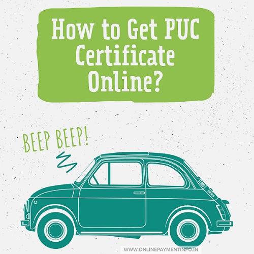 How to get PUC certificate online