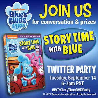 Twitter Party Blues Clues and You