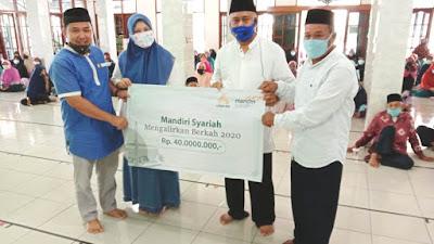 BSM Mengalirkan Berkah Bahagiakan Warga Jamaah Masjid Al Istiqomah Kampung Utan