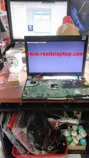 Service Laptop Lenovo Thinkpad X120E Layar Mati