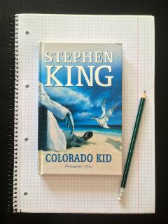 """Colorado Kid"" Stephen King, fot. paratexterka ©"