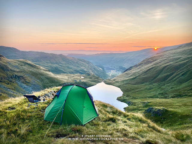 Wild camping Lake District Scotland Helm 2 Compact Tent