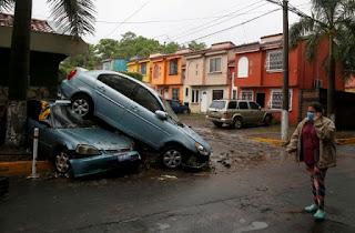 Tormenta tropical Amanda en América Central