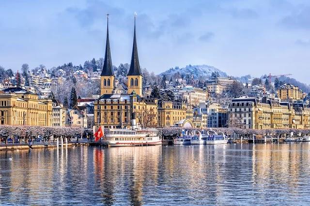 Winter beauty in Switzerland