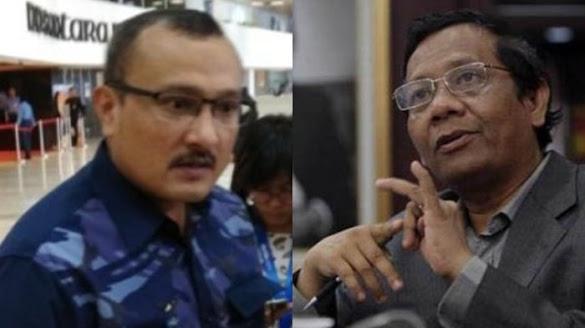 Di Blockir Mahfud MD, Ferdinand Ngadu ke Bambang Elf; Komentarnya Menohok