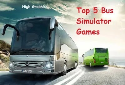 Top 5 Bus Simulator Games For Android & iOS-High Graphics