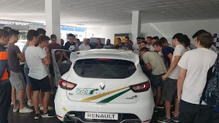 Renault Ginestar Xàtiva realitza una masterclass per als nostres alumnes d'Electromecànica