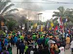 Hari Ketiga, Demo Mahasiswa Tolak UU Cipta Kerja di Samarinda