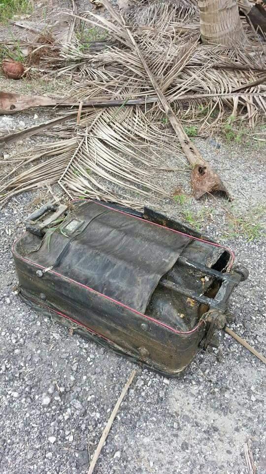 Gambar- Mayat Dalam Beg DiTemui Di Kapar