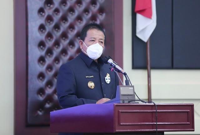Gubernur Arinal Lantik 12 Pejabat Eselon II Pemprov Lampung