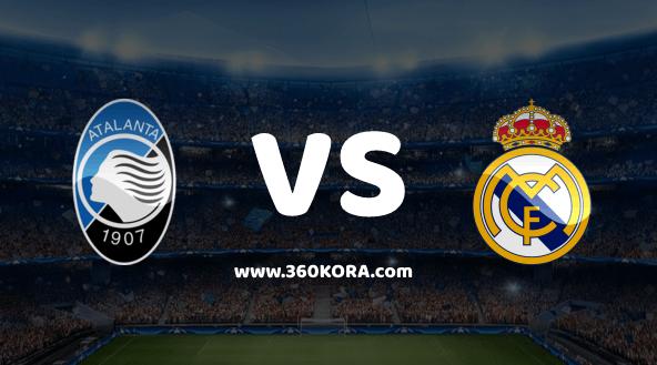 مشاهدة مباراة ريال مدريد وأتلانتا بث مباشر بدوري أبطال أوروبا