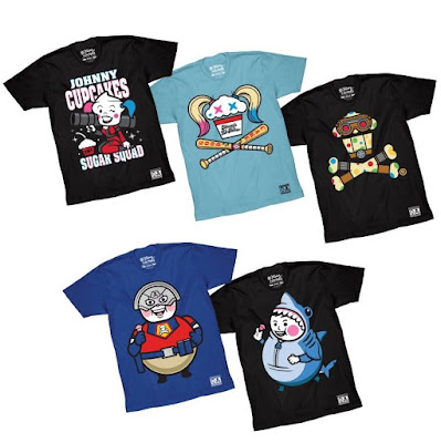 The Suicide Squad Parody T-Shirt Collection by Johnny Cupcakes