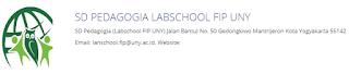 Dibutuhkan Guru Kelas dan Guru PAI di SD Pedagogia Labschool FIP UNY