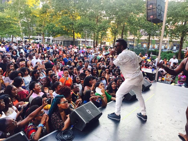 Bisa Kdei Headlines Afro Festival In New Jersey